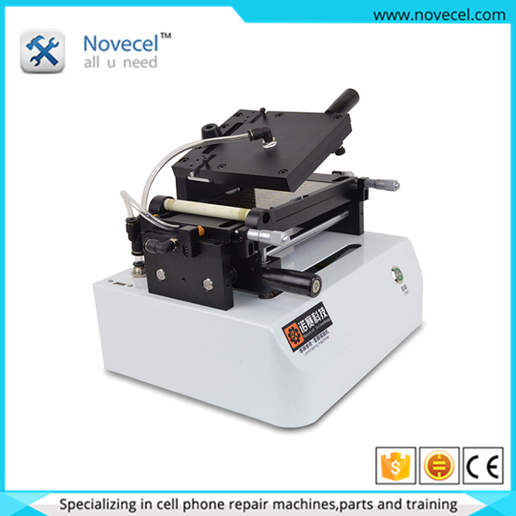 Mobile phone repair company 7 inch OCA film laminating machine for phone lcd applying