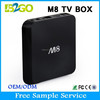 2015 new products M8 Quad core AMLogic S802 thailand iptv set top box