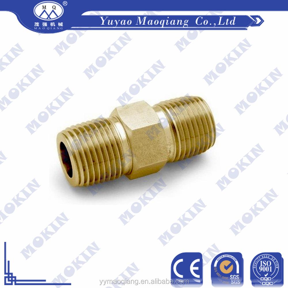 Gi pipe nipple montaje con doble hilo de cobre uniones