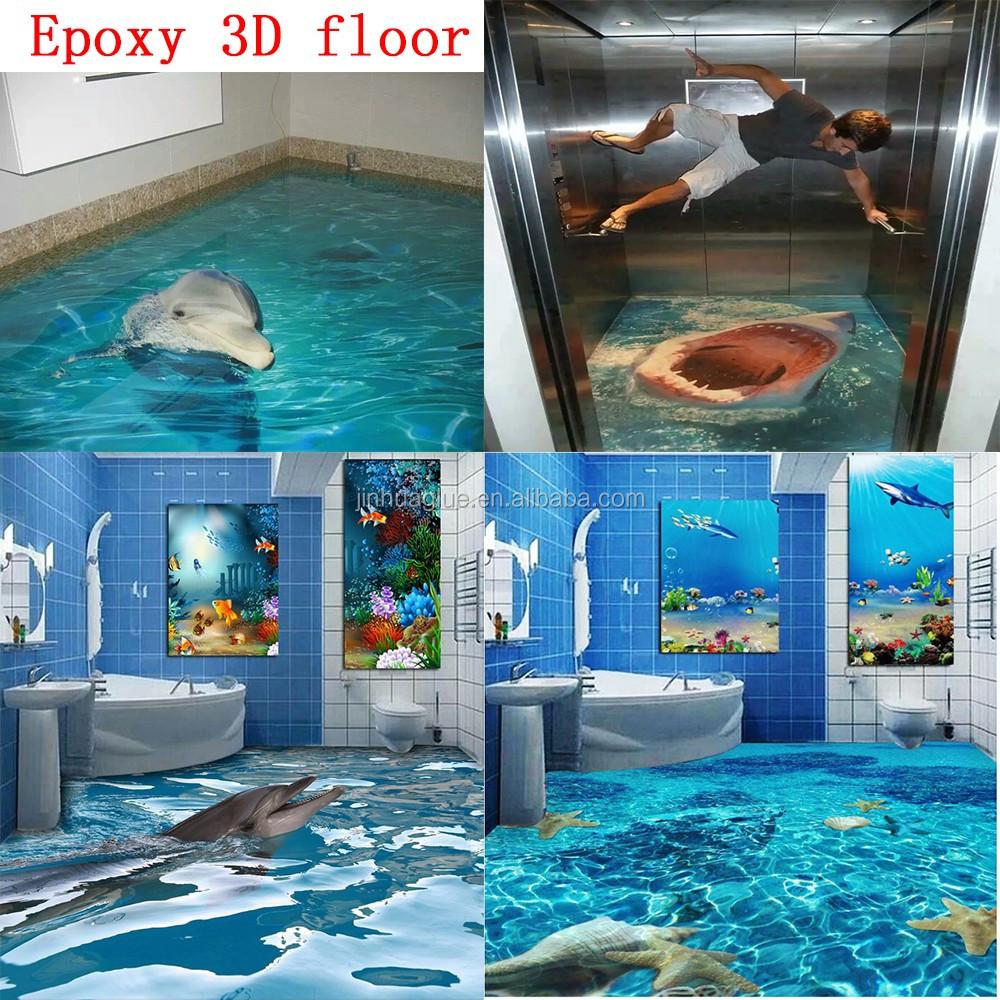 China Lieferant Epoxy 3d Boden Für Heimtextilien/bad/schlafzimmer ...