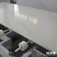 White engineered stone, poly resin artificial marble