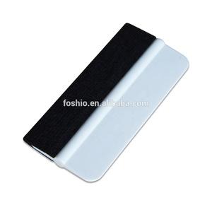 PP material tinting tool felt edge bondo white squeegee