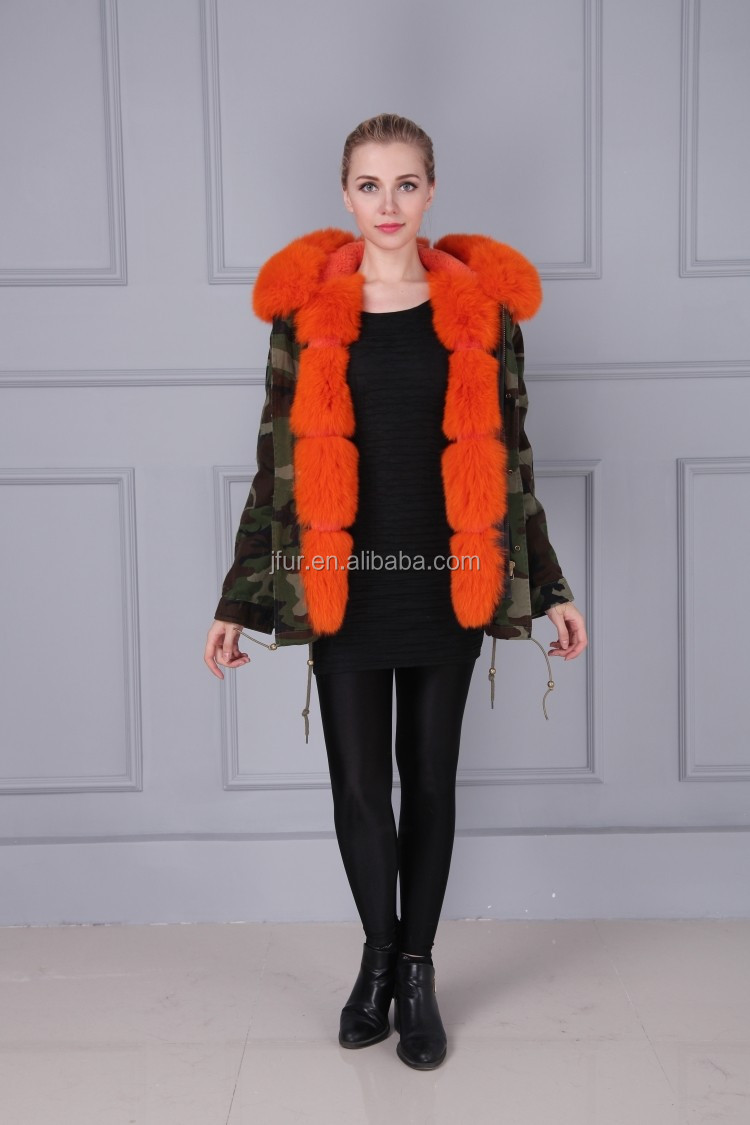 9933449ba499d Pink real pink fox fur parka,remove ladies pink fur for wholesale,fur hood  down oversized fur trim pink parka