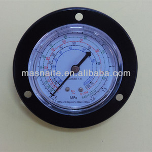 63mm Freon liquid filleed pressure gauge