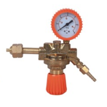 REFULGENCE PROPANE GAS REGULATOR, MEDIUM-SIZED ITALY TYPE PROPANE REGULATOR, FULL BRASS REGULATOR