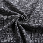 2018 hot selling product custom knit ribbing cheap hand dyed fabric for sweatshirts online