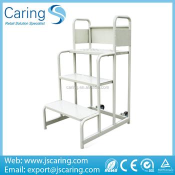 Shopping Cart Foldable Steel Ladder Trolleys Buy