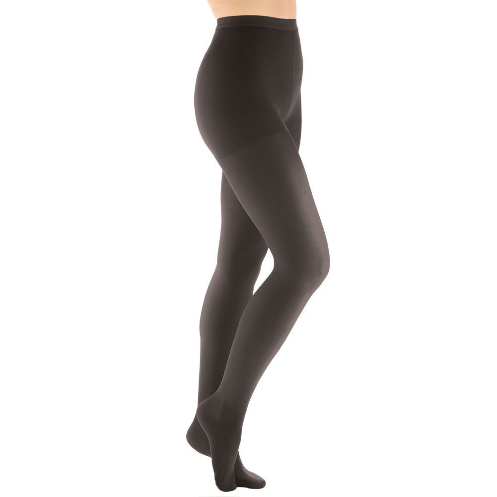 98024398c1 Get Quotations · Women's Moderate Compression Pantyhose - Support Plus -  Black - Queen Plus