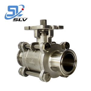 Cheap Price Clamp Ball Valve with High Platform