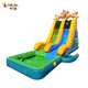 Enjoyment china small indoor inflatable dry slide with good price ES-32