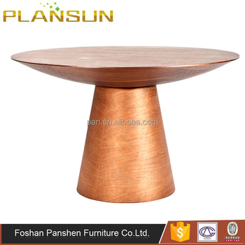 Modern Contemporary Dining Room Furniture Classique Drum Round Dining Table  By Stuart Scott