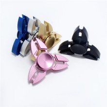 Fashion Toys For Autism ADHD Crab Tri-spinner Aluminum Alloy Hand Spinner
