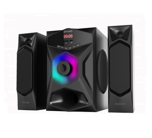 China hotsales Fantastics Hi Fi home theater system 2.1ch woofer speaker system 2.1 for karaoke .