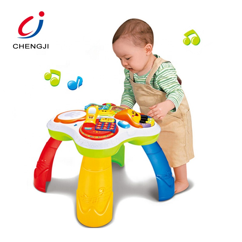 OEM toddler gifts kids plastic table funny baby early learning educational toy