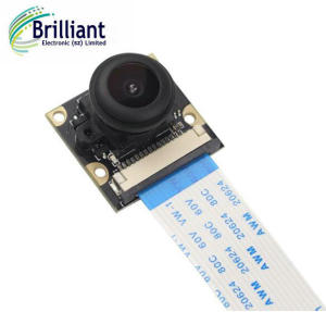 Raspberry Pi 3 Camera Night Vision with 150 Degree Wide Angle 5M Pixel 1080P Camera Module Also for Raspberry Pi 2
