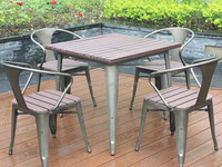 Metal Type and Outdoor Table Specific Use used tables and chairs for sale