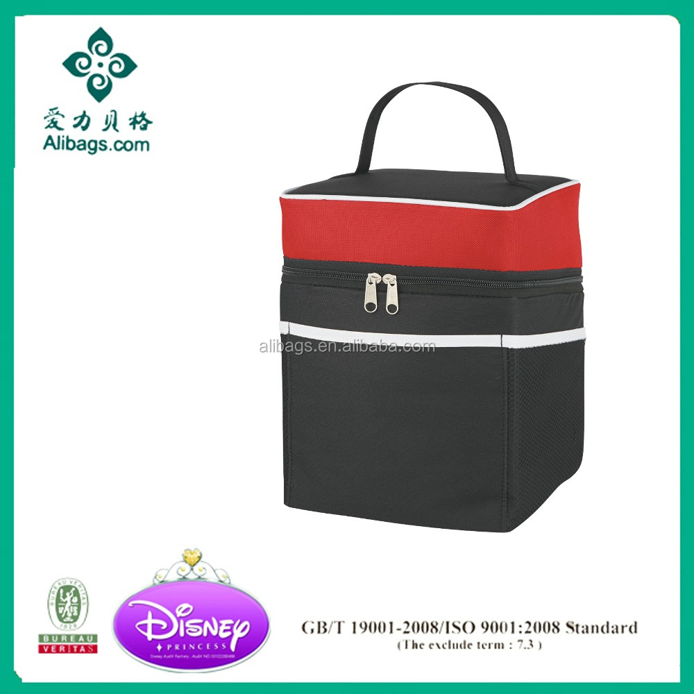 Two compartment Deluxe Lunch Cooler bag