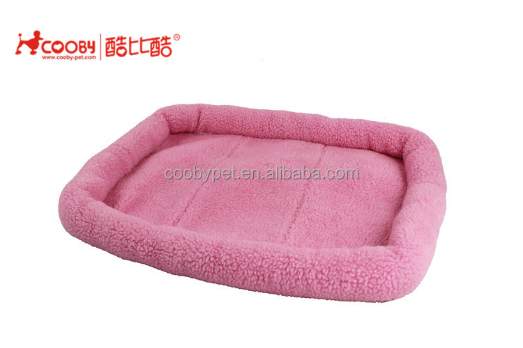 Factory supply deluxe cute cozy lamb wool pet bed mattress dog cat pad