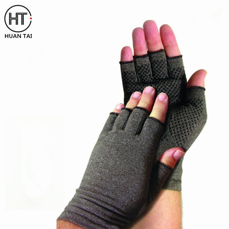 The high quality Pain Relieve Cotton Lycra Medical Support Arthritis Compression Gloves