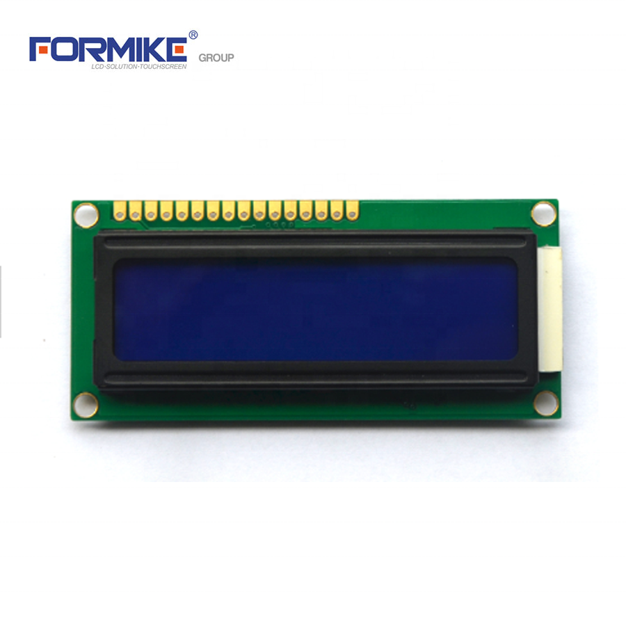Custom mono <strong>lcd</strong> 16*2 line character blue display module