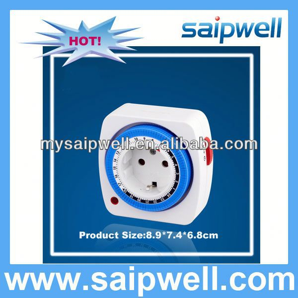 GERMAN STYLE INDUSTRIAL MECHANICAL TIMER FOR TIMING OF WATER HEATER