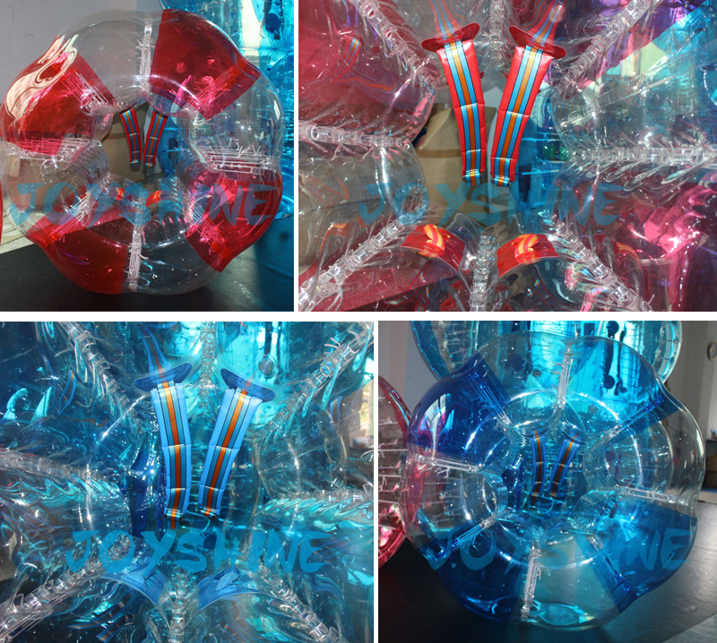 In Stock Bumperball 1.5m Transparent Inflatable Human Body Zorbing Balls Cheap Prices Bubble Soccer Ball Bumper