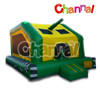 Inflatable army tank bouncer for kids, commercial quality fire truck bouncer for sale