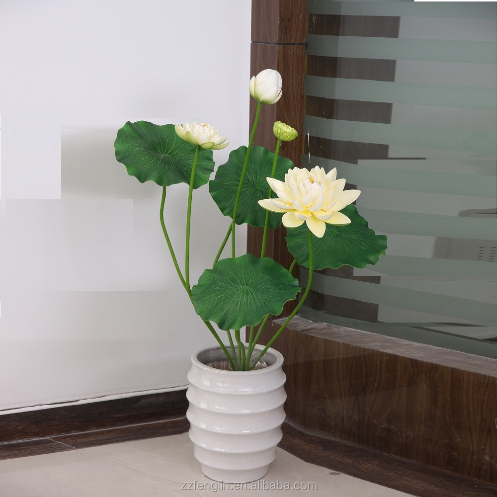 434 Inch Factory Direct Wholesale Artificial Lotus Flower For Home