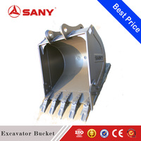 SANY Hot Sale Steel Material 0.15 to 0.58m3 Mini Rock Excavator Parts Grapple Rotating Rake Bucket