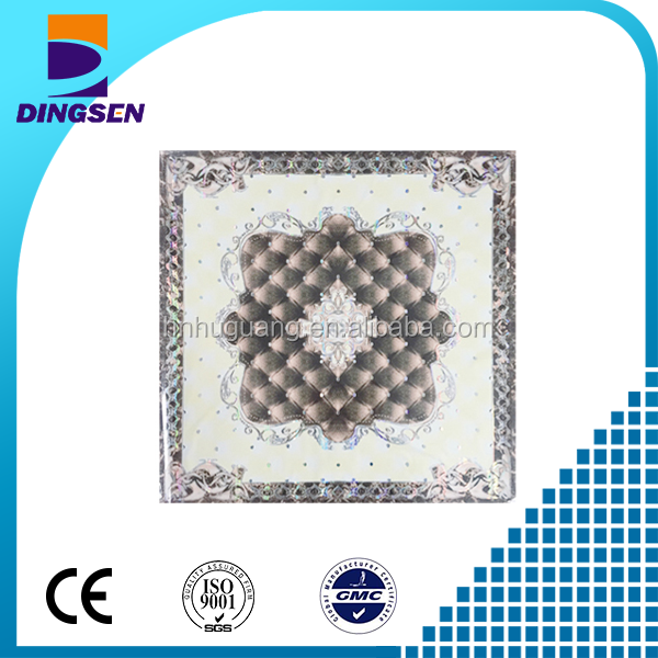 595*595/603*603 Mm Pvc Panel Celing Pvc Blank Plastic Sheet