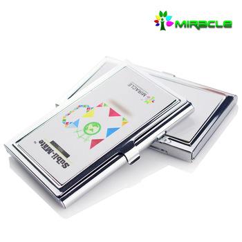 Neuankömmling Sublimation Leere Name Karteninhaber Visitenkartenhalter Buy Id Card Inhaber Visitenkartenhalter Metall Sublimation Kartenhalter