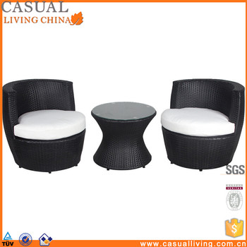 3 Piece Wicker Rattan Chat Coffee Table And Chair Furniture Sets Under 200 With Cushions Buy