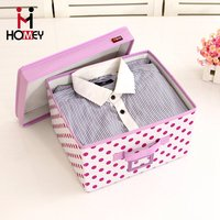 Home Beautiful Collapsible Multipurpose Stackable Clothes Storage Bins With