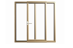 German Style PVC Tilt And Turn Windows With Hinges And Hardware
