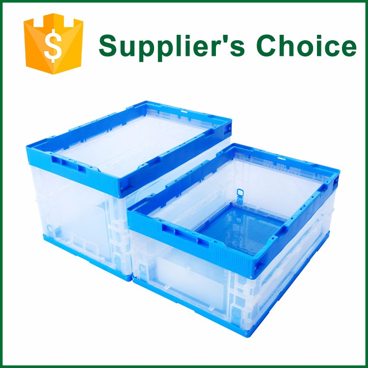 Printing Logo Durable Turnover Clean Plastic Box