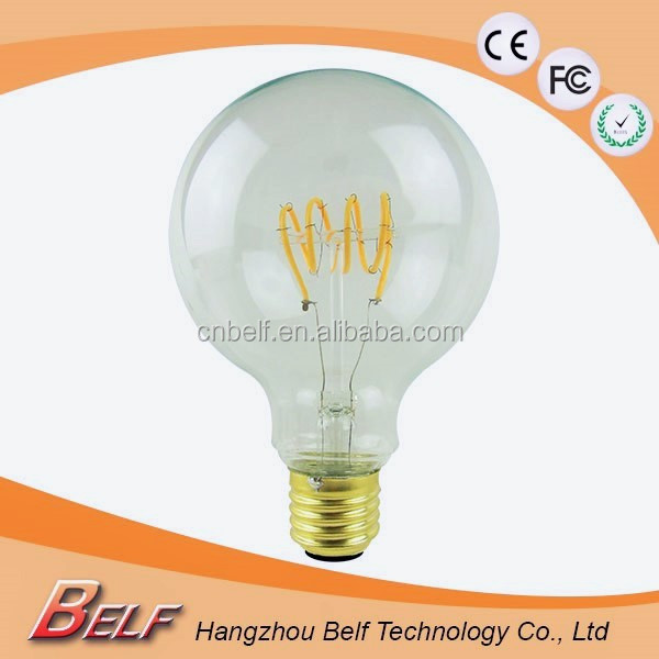 G80 Antique Vintage Led Filament Light Bulb,Energy Saving