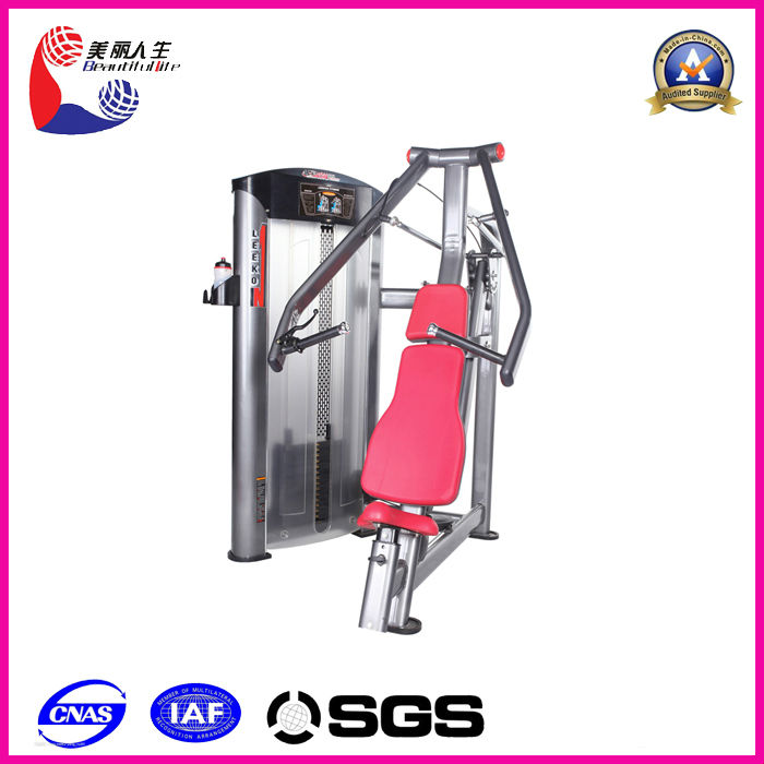 exercise and fitness equipment seated chest press