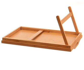 Home And Hotel Furniture Bed Tray Folding Breakfast Tray Bamboo Bed Table  And Bed Tray With