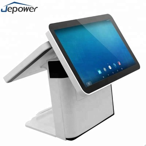 All in one android 15.6 inch touch second monitor dual screen pos terminal