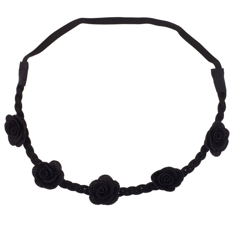 Cheap Black Rose Headband, find Black Rose Headband deals on