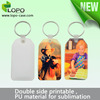 2016 new products custom sublimation luggage tag for travelling
