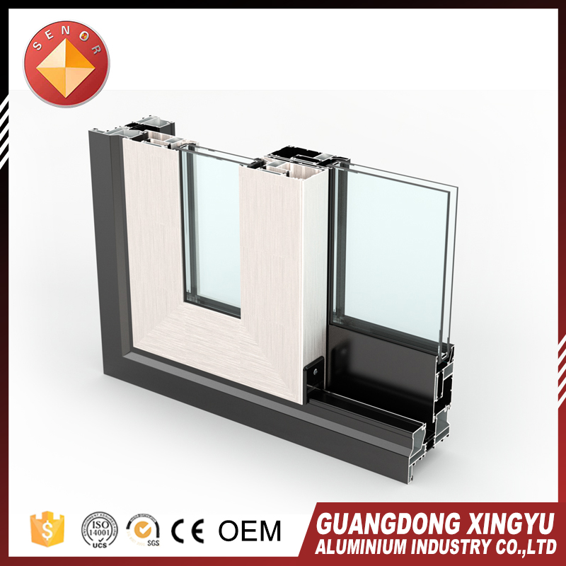 Foshan manufacturing industry window 6063 aluminum profile for greenhouse