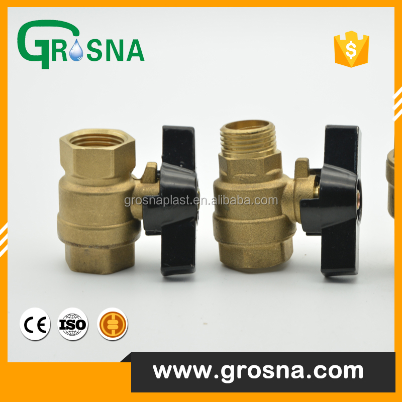 Copper butterfly handle ball valve wafer brass check valve door quality assurance signal butterfly Valve Suppliers