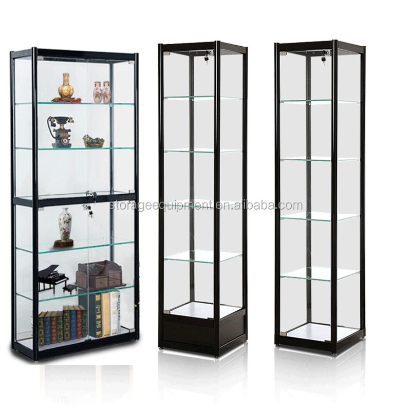 Corner Glass Display Cabinet, Corner Glass Display Cabinet Suppliers And  Manufacturers At Alibaba.com