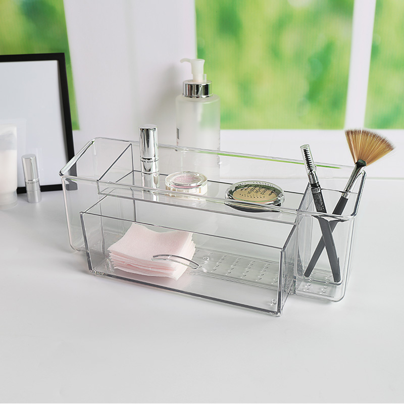 Plastic Drawer Cabinet Storage Organizer Make up Organizer