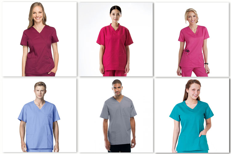 Hospital Medical Scrubs Uniform for Cheap Sale