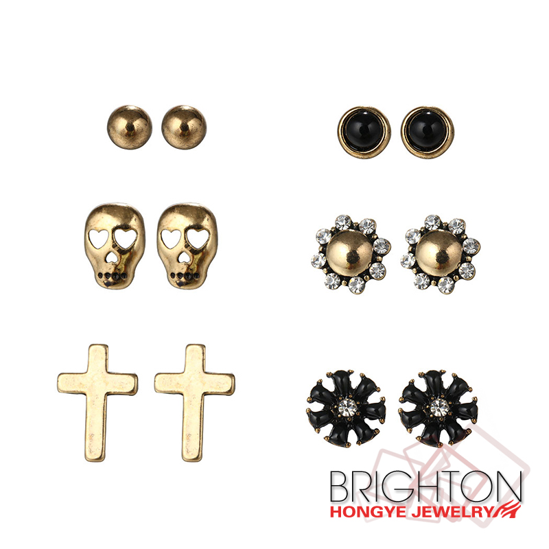 Simple Gold Earring Designs For Women, Simple Gold Earring Designs ...