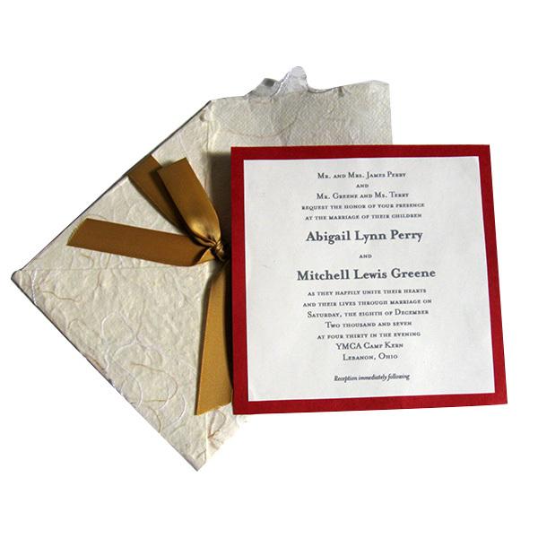 بطاقات دعوة زواج باللغة