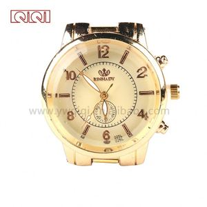 luxury men kingquartz watches details alloy band quartz watch