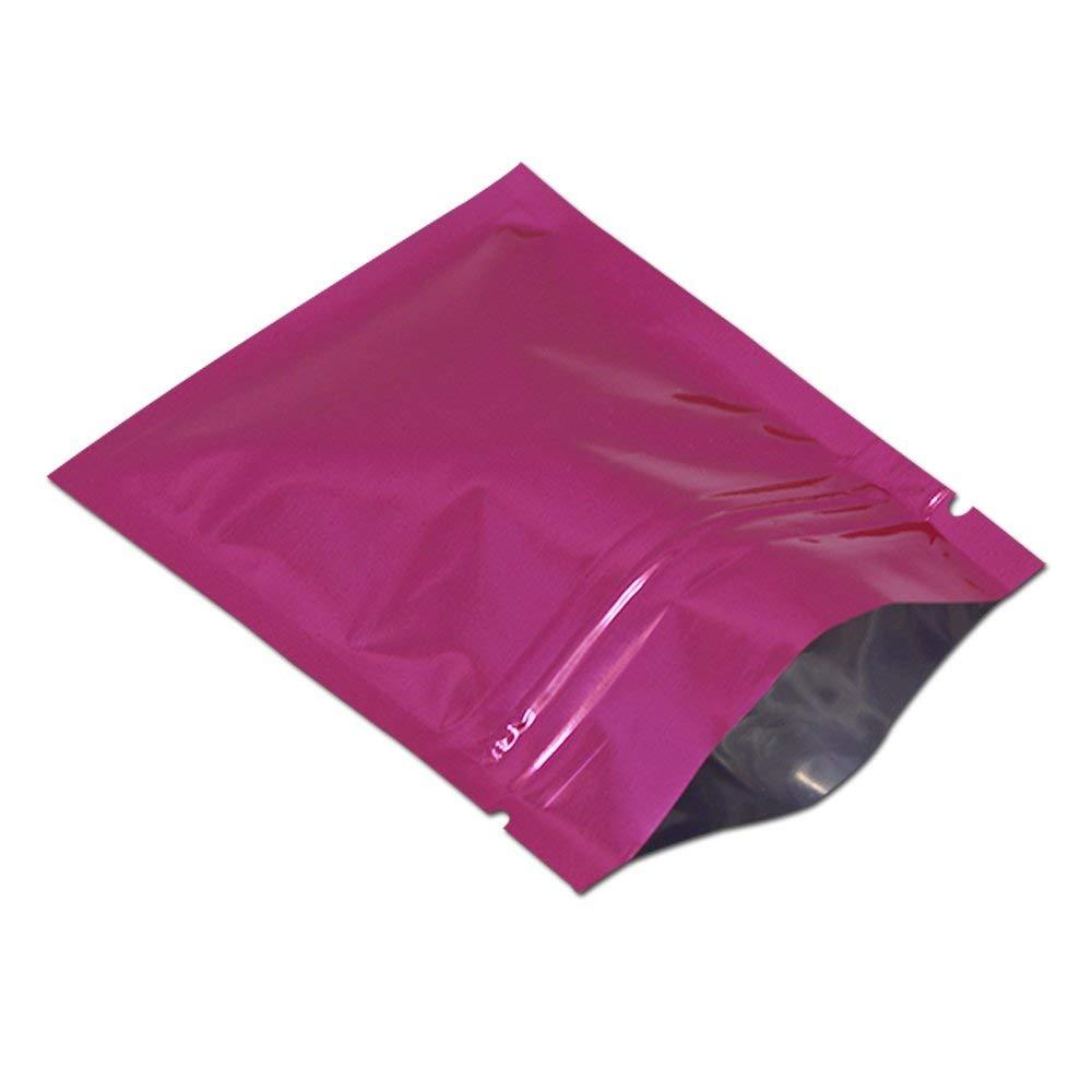2cf9d2c3a2 Get Quotations · 100 Pcs 14x20cm (5.5x7.9 inch) 8 Colors Metallic Foil  Mylar Flat